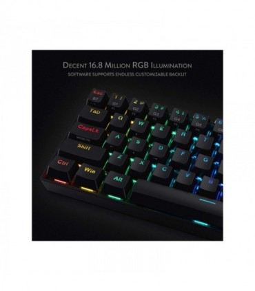 کیبورد گیمینگ ردراگون مدل Draconic K530 RGB – B