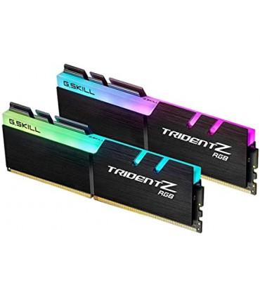 رم دسکتاپ DDR4 دو کاناله 3200 مگاهرتز CL16 جی اسکیل مدل Trident Z RGB ظرفیت 32 گیگابایت