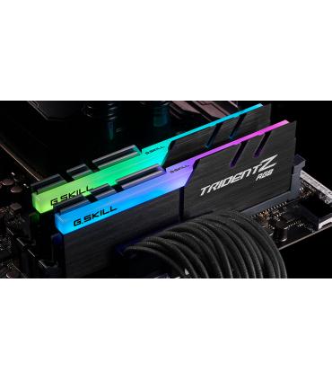رم دسکتاپ DDR4 دو کاناله 3000 مگاهرتز CL16 جی اسکیل مدل TRIDENT Z RGB ظرفیت 16 گیگابایت
