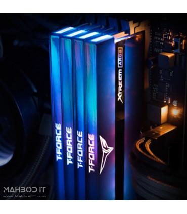رم دسکتاپ DDR4 دو کاناله 3200 مگاهرتز CL16 تیم گروپ مدل T-Force Xtreem ARGB ظرفیت 16 گیگابایت