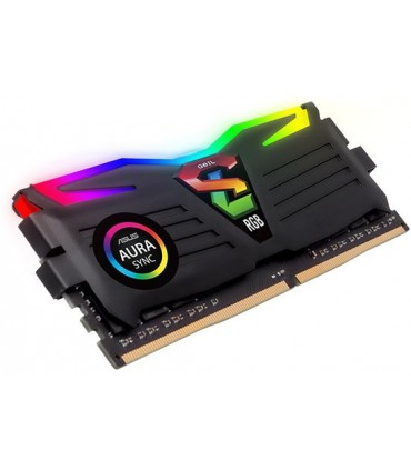 رم کامپیوتر ژل سری Super Luce RGB با حافظه 16 گیگابایت و فرکانس 2400 مگاهرتز