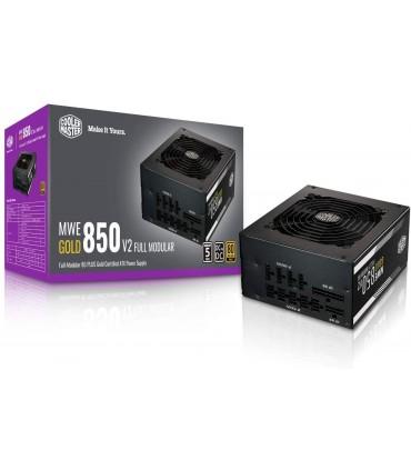 پاور 850 وات کولر مستر MWE GOLD 850 V2 Gold Full Modular