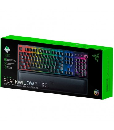 کیبورد بی سیم مکانیکال گیمینگ ریزر BlackWidow V3 Pro Green Switch